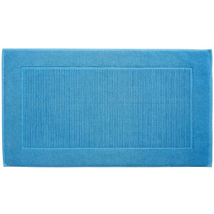 Christy Supreme Hygro Bath Mat - Cadet Blue (2 Pack)