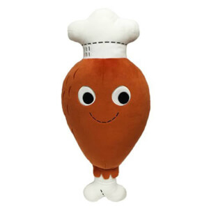 Peluche di Dan il cosciotto di pollo, Yummy World - Kidrobot - large