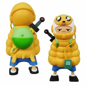 Kidrobot Adventure Time Puff Jake N Lil Finn 6-inch Vinyl Figure