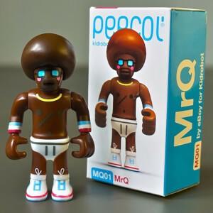 Kidrobot Peecol MrQ NIB Vinyl 3.5 Inch Figure Designed by Eboy