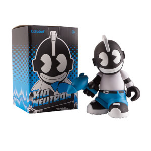 Kidrobot KidNeutron Black Edition 20cm Vinyl Toy Figure