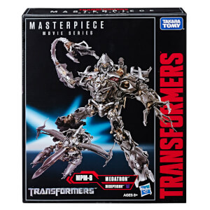 Hasbro Transformers Masterpiece Movie Series Megatron MPM-8 Collector 12 Inch Figure