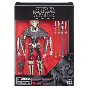 Star Wars The Black Series 6 Inch General Grievous Figure