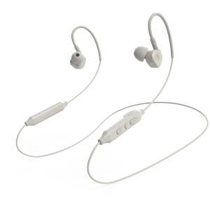 Mixx Memory Fit 5 Bluetooth Wireless Sports Earphones - White