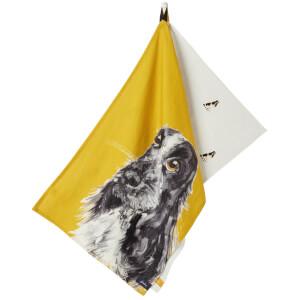 Joules Spaniel Set of 2 Tea Towels