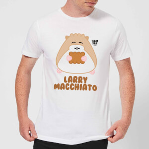 Hamsta Larry Macchiato Men's T-Shirt - White