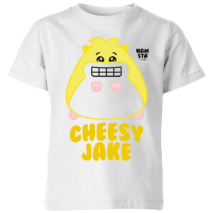 Hamsta Cheesy Jake Kids' T-Shirt - White