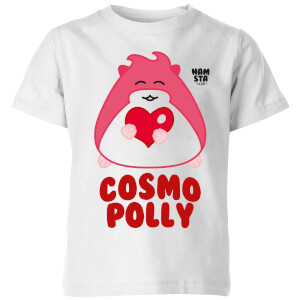 Hamsta Cosmo Polly Kids' T-Shirt - White