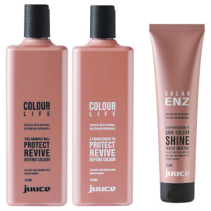 Juuce Colour Life & Solar Enz Trio Pack (Worth $85.85)