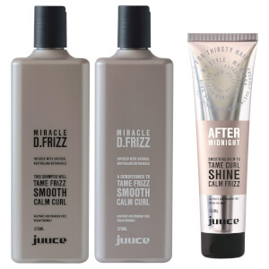 Juuce Miracle D Frizz & After Midnight Trio Pack (Worth $85.85)
