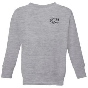 Eye Eye Pocket Kids' Sweatshirt - Grey