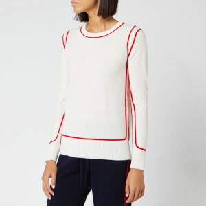 Madeleine Thompson Women's Nala Jumper - White/Red
