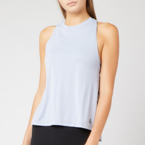 Reebok Women's WOR MYT Poly Tank Top - Blue