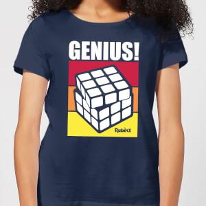 Rubik's Genius Women's T-Shirt - Navy