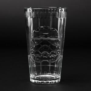 Star Wars Stormtrooper Shaped Glass