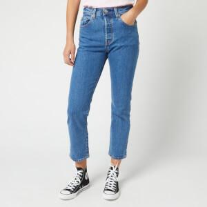 Levi's Women's 501 Crop Jeans - Jive Stonewash