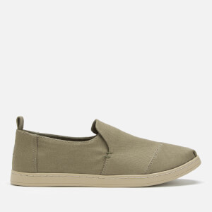 TOMS Men's Deconstructed Canvas Alpargata Pumps - Burnt Olive