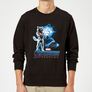 Sweat-shirt Avengers: Endgame Rocket Suit Homme - Noir