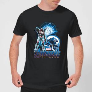 T-shirt Avengers: Endgame War Machine Suit - Homme - Noir