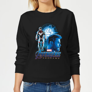 Avengers: Endgame Thor Suit Women's Sweatshirt - Black