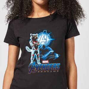 Avengers: Endgame Rocket Suit dames t-shirt - Zwart