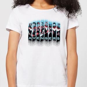 Avengers: Endgame Character Split Women's T-Shirt - White
