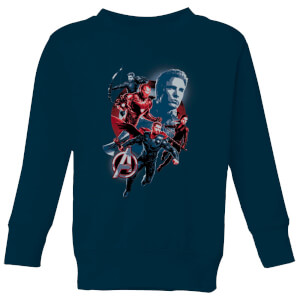 Avengers: Endgame Shield Team Kids' Sweatshirt - Grau
