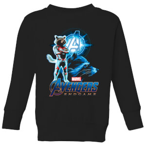 Avengers: Endgame Rocket Suit Kids' Sweatshirt - Black
