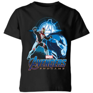 Avengers: Endgame Iron Man Suit Kids' T-Shirt - Schwarz