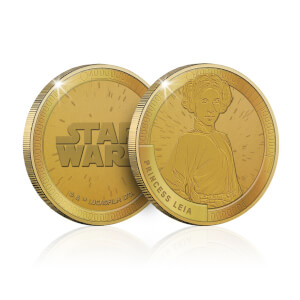 Collectable Star Wars Commemorative Coin: Princess Leia - Zavvi Exclusive (Limited to 1000)