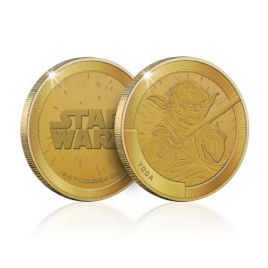 Collectible Star Wars Commemorative Coin: Yoda - Zavvi Exclusive (Limited to 1000)