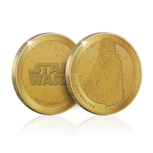 Collectable Star Wars Commemorative Coin: Chewbacca - Zavvi Exclusive (Limited to 1000)