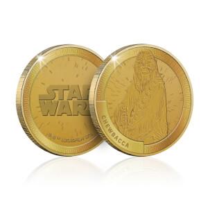 Moneta Commemorativa da collezione Star Wars: Chewbacca - Esclusiva Zavvi (1000 pezzi)