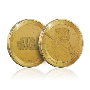 Collectable Star Wars Commemorative Coin: Ewok (Wicket) - Zavvi Exclusive (Limited to 1000)