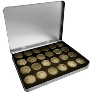 Estuche metálico Monedas de Colección Star Wars - Exclusivo Zavvi (500 uds. disponibles)