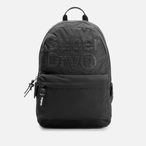 Superdry Men's Pinstrip Montana Backpack - Black