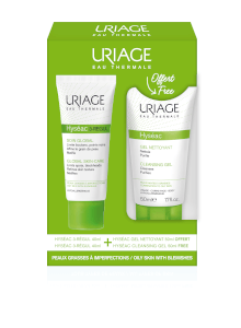 Uriage Hyséac 3-Régul Global Skin Care 40ml + Cleansing Gel 50ml Free