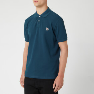 PS Paul Smith Men's Zebra Polo Shirt - Navy