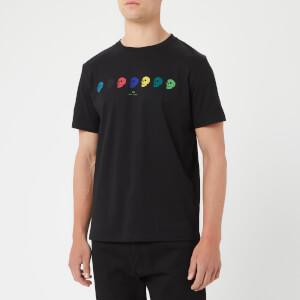 PS Paul Smith Men's Multi Skull Print T-Shirt - Black