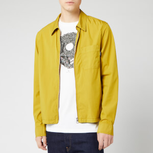 PS Paul Smith Men's Zip Through Overshirt - Goldy