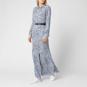 MICHAEL MICHAEL KORS Women's Coral Mosaic Shirt Dress - Twilight Blue