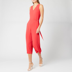 MICHAEL MICHAEL KORS Women's D Ring Belt Jumpsuit - Sea Coral