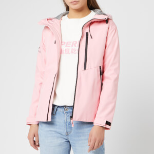 Superdry Women's Eclipse SD-Windcheater Jacket - Powder Pink