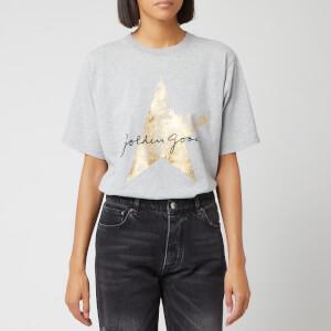 Golden Goose Deluxe Brand Women's Hoshi T-Shirt - Melange/Golden Star