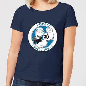 Popeye 90th dames t-shirt - Navy