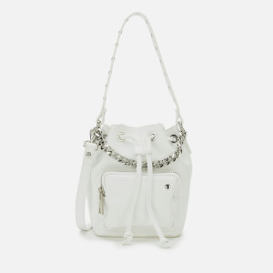 Núnoo Women's Gina Bucket Bag - White