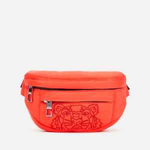 KENZO Women's Quilted Tiger Bumbag - Red