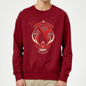 Hellboy Anung Un Rama Sweatshirt - Burgundy