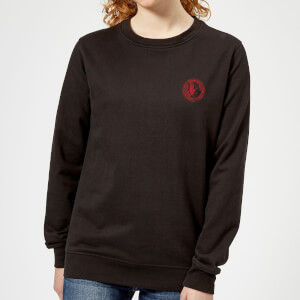 Hellboy B.P.R.D. Hero Pocket Women's Sweatshirt - Black