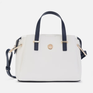Tommy Hilfiger Women's Core Medium Satchel - Bright White